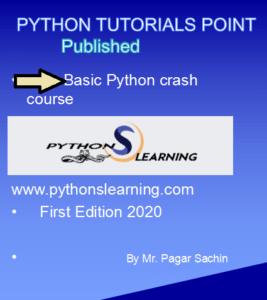 Best python tutorials point ebook