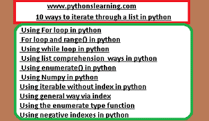 Read more about the article how to iterate through a 2d list in python