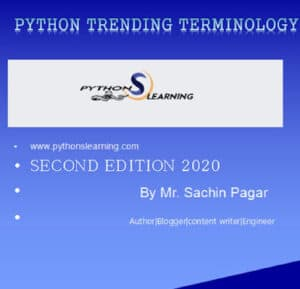 python trending terminology course ebook