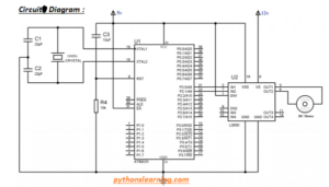Read more about the article How to 12 volt dc motor interfacing with 8051 using L293D