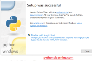 Read more about the article how to update python version 3.9.4 on windows 10
