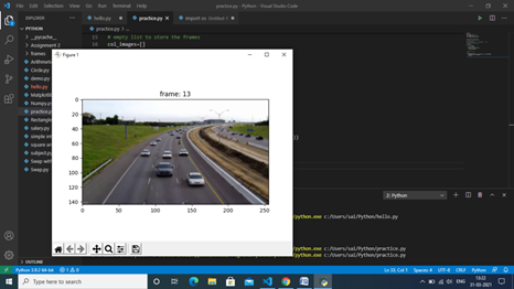 How to perform Vehicle Detection using Python and opencv
