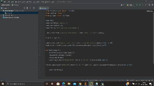 Step 2 : Write complete source code for downloading youtube videos