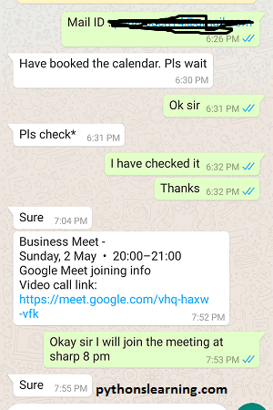 how to automate whatsapp message using python pywhatkit