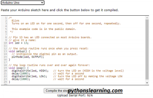 Read more about the article which is free online ide / compiler / Simulator for arduino