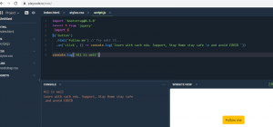 Read more about the article which is free online compiler / editor for javascript