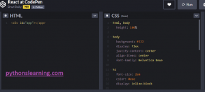 Read more about the article which is free online compiler / editor for react js