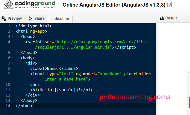 which is best and free online angularjs editor | compiler | terminal